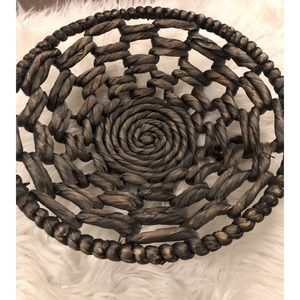 Straw basket or wall piece ♥️